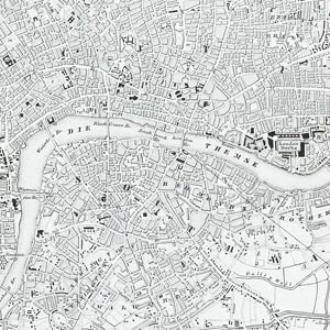 Old London and the River Thames