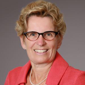 Premier Kathleen Wynne, Premier, Ontario