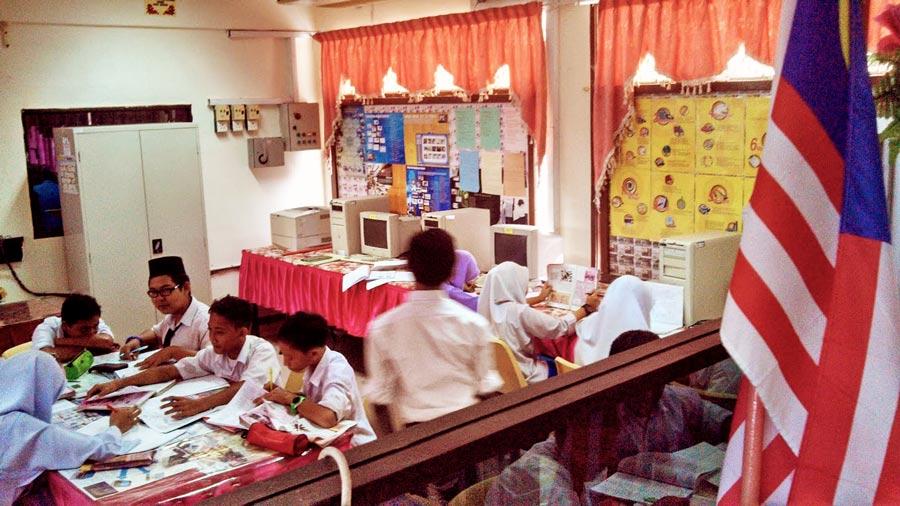 School-computer-lab-Perak,-Malaysia