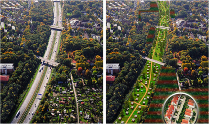 Hamburg, Germany plans to be car-free within 20 years. Image credit: smilingtimes.com