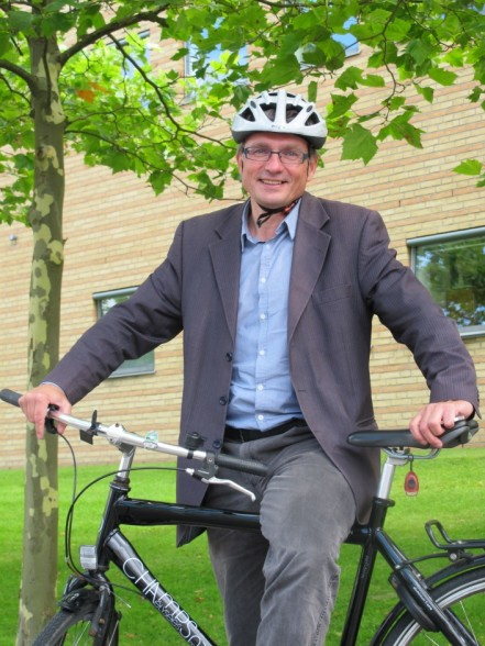 "Furesø Mayor Ole Bondo Christensen: ""Cyclists know no borders."" (Furesø Municipality)"