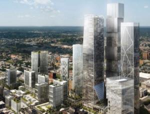 Downtown Newark rendering