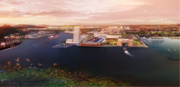 Ford Point and Future Ferry Terminal