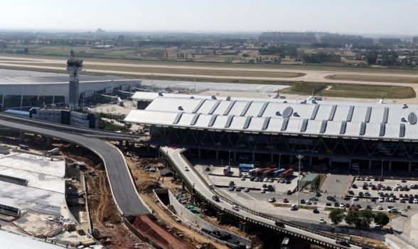 Xinzheng International Airport outside of Zhengzhou is the focus of a special economic zone five times the size of Manhattan. (photo provided by John Kasarda)