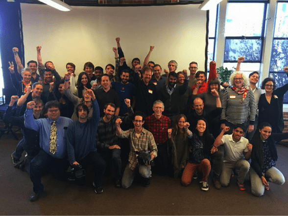 Participants at the first-ever Basic Income Create-a-thon in San Francisco